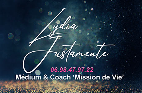"Lydia Justamente Medium et Coach ""Mission de Vie"""